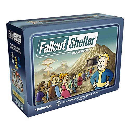 Asmodee Fantasy Flight Games FFGD0170 Fallout Shelter: Das Brettspiel, Kenner-Spiel, Deutsch
