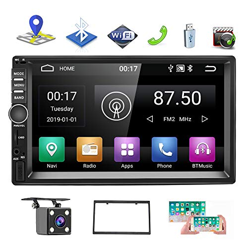 IYING Android 9.0 Car Stereo 4G+64G Support Apple CarPlay//WiFi//4G Sim Card 9 Inch 1280x720 IPS Touch Screen Car Multimedia Headunit AM//FM Radio GPS Navigation Bluetooth for Toyota Camry 2006 to 2011