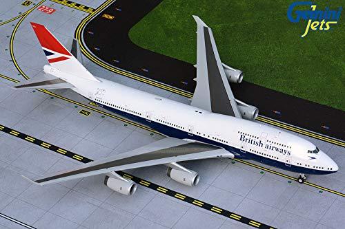 Daron GeminiJets GEMG20841 1:200 British Airways Boeing 747-400 Reg #G-CIVB Negus Retro Livery (vorgemalt/vorgebaut)