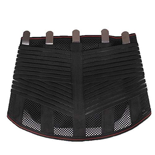 WCX Doble Ajuste Faja Lumbar Corrector de Postura Cintura de Soporte Cinturón para el...