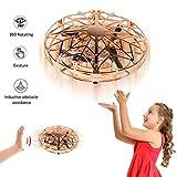 YORKOO Cadeaux pour Garçons Filles 5-8 Ans Ballon Volant Mini Drone Enfant Jeux Quadricoptère Jouets Enfants Hélicoptère Télécommandé UFO