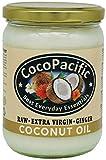 CocoPacific - Aceite de coco virgen crudo con jengibre, 500 ml