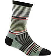 Side Profile View for Women's Darn Tough Pixie Crew Light Sock