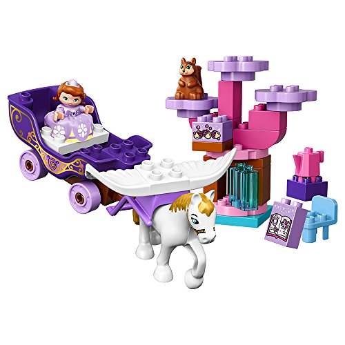 LEGO DUPLO Disney 10822 Sofia the First Magical Carriage Building Kit (30 Piece) by LEGO