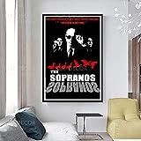 ZCGY Das Sopranos Poster Classic Movie TV Wandkunst
