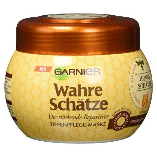 Garnier Wahre Schätze Tiefenpflege-Maske, 1er Pack (1 x 300 ml)