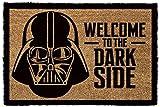 1art1 Star Wars - Darth Vader, Bienvenidos Al Lado Obscuro Felpudo Alfombra (60 x 40cm)