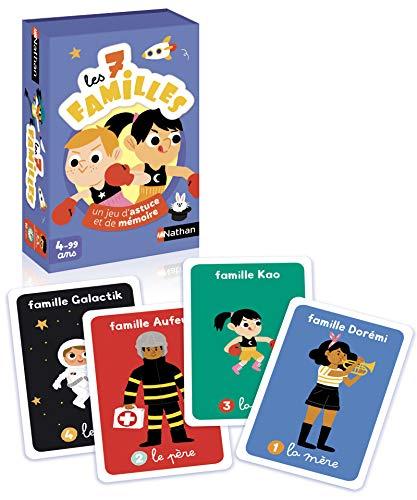 Nathan - Jeu 7 familles - Jeu de cartes pour enfant dès 4 an