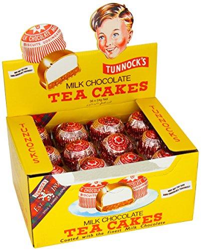 Tunnock Milch Schokolade Tee-Kuchen 36 x 24g