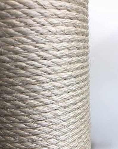 Pettine di ricambio (1 pezzo) per albero tiragraffi di qualità, diametro 15 cm e 60 cm di lunghezza, filettatura M8
