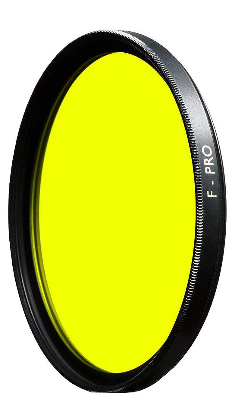 B + W 55mm #022 Multi Coated Glass Filter - Medium Yellow #8