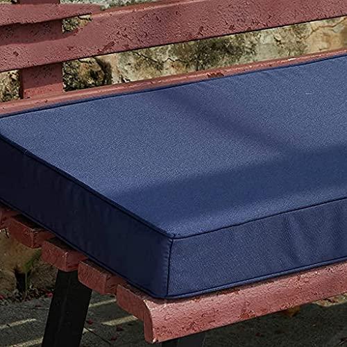 Cuscini da giardino, cuscini da giardino, cuscino da banco esterno, 2 posti 3 posti in tessuto impermeabile panchina for sedile cuscini for mobili for la casa patio da pranzo tampone sedia rettangolar