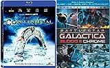 Battle Space Drama Action Blood & Chrome Battlestar Galactica + Stargate SGU- UNIVERSE Star gate: Continuum Pack Blu Ray Sci-Fi Set