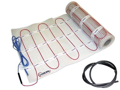 profesional ranking EXTHERM: Alfombra calefactora doble de 2 cables para instalación en suelos cálidos … elección