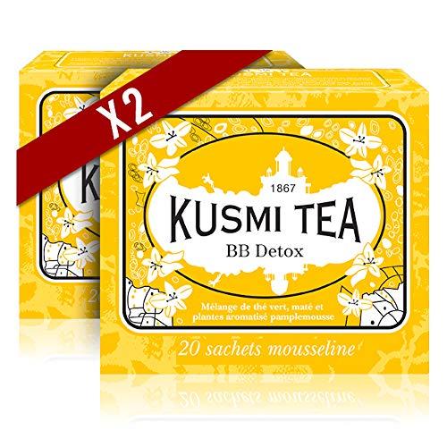 Kusmi Tea - Lot de 2 boîtes (Thé vert BB Détox)