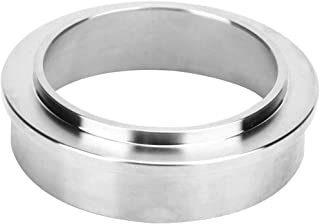 VIENESSO Doseringsring av rostfritt stål 58 mm/espressotratt för exakt påfyllning av kaffepulvret – screenhållare tillbehö...