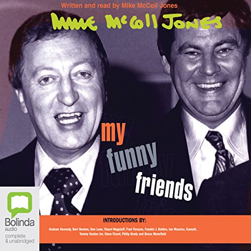 My Funny Friends audiobook cover art