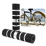 Clavijas de Bicicleta,Aluminio Pie Stunt Pegs Antideslizante para Bicicleta BMX(2 Piezas)