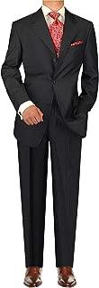 DTI GV Executive Italian Men's Wool Suit 3 Button 2 Piece Suits Jacket Trousers