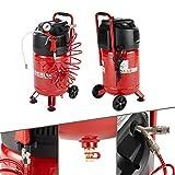 AREBOS Compresor de aire comprimido | 1500 W | 30 L | 10 bar | de pie | incl. 13 accesorios | 2 acoplamientos de conexión rápida