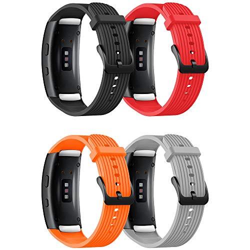 YPSNH Compatible para Correa Gear Fit 2/ Fit 2 Pro Correa de Silicona Deportiva de Reemplazo para Samsung Gear Fit2 Pro/Gear Fit 2