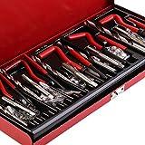 Ballylelly Herramienta de reparación de roscas Helicoil Rethread Repair Kit Set Garage Workshop Tool Herramienta Profesional de reparación de Retroceso