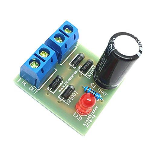 In4007 Full Wave Puente Rectificador Suite 1a Ac A Dc Convertidores De Potencia Diy Kits