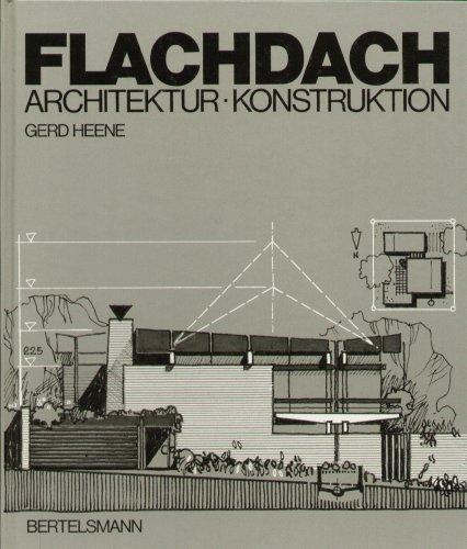 Flachdach. Architektur - Konstruktion.