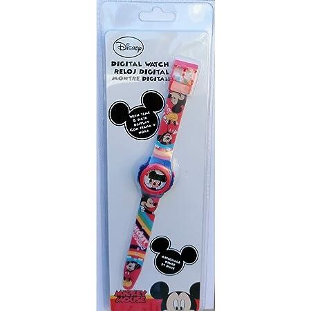 Orologio da Polso Digitale Mickey Mouse Disney Topolino in Confezione Regalo - WD21167