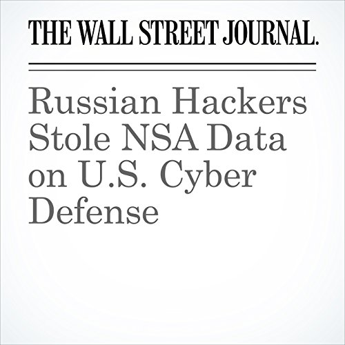 Russian Hackers Stole NSA Data on U.S. Cyber Defense copertina