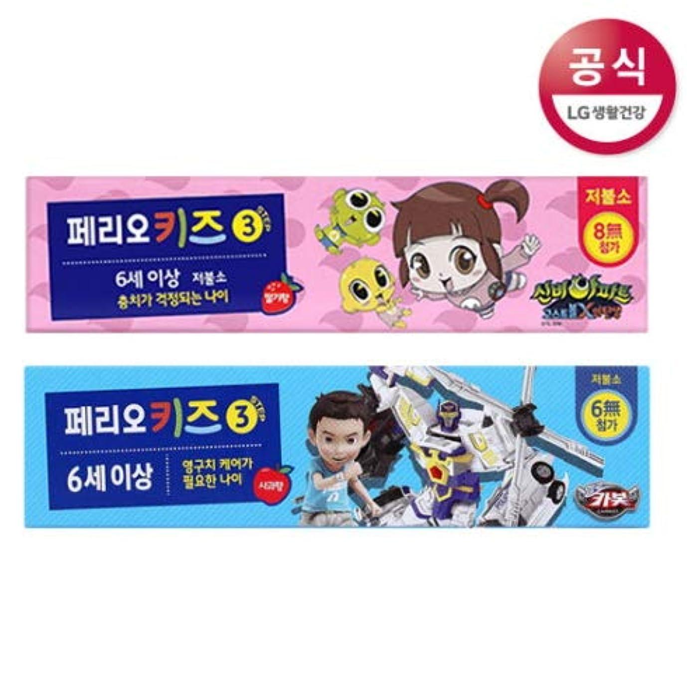 タンク梨足音[LG HnB] Pero Kids Step 3 Toothpaste / ペリオ子供ステップ3歯磨き粉 75gx2個(海外直送品)