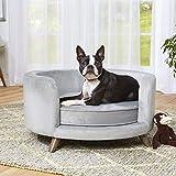 Enchanted Home Pet Rosie Sofa - Grey, Medium (CO3201-18GRY)