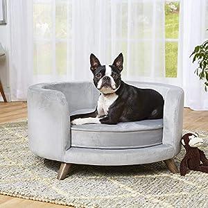 Enchanted Home Pet Rosie Sofa – Grey, Medium (CO3201-18GRY)