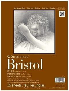 Strathmore 400 Series Bristol, 2-Ply Smooth, 9