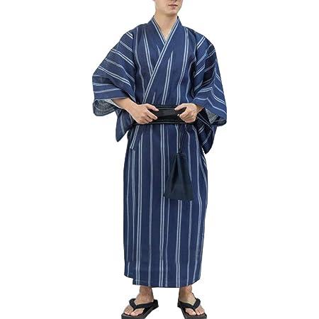 Kimono japonés Yukata japonés para Hombre Pijama de túnica ...