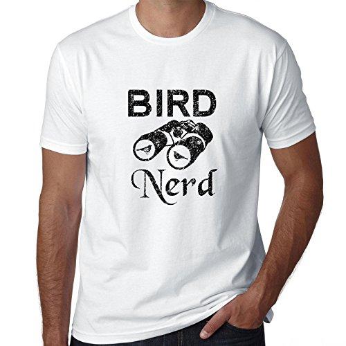 Bird Nerd - vogels kijken verrekijker Graphic heren T-Shirt