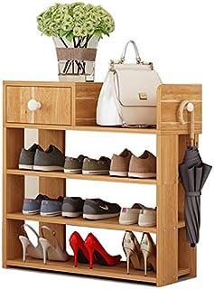 JJZXT Multi-Couche Simple Chaussure Moderne étagère Accueil Simple Ménage antipoussière Chaussures Cabinet, Porte-Bagages ...
