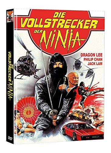 Die Vollstrecker der Ninja - Mediabook - Limited Edition auf 50 Stück - Cover A (+ Bonus-DVD mit weiterem Ninjafilm)