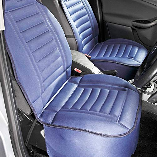 easylife lifestyle solutions Comfy Padded Car Seat Cushion | Navy