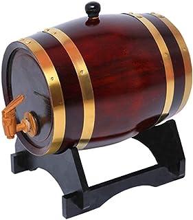 Tonneau à vin en bois Baril De Vin De Chêne, Décoration De Bar De Restaurant De Seau Refroidisseur De Seau Ornements Intég...