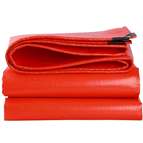 QIANGDA Bâche De Protection Couverture Polyéthylène Couverture De Moisissure Résistance À La Corrosion Durable Pliage Facile -210g / M²,12 Tailles, Taille Personnalisé (Taille : 3 x 6m)