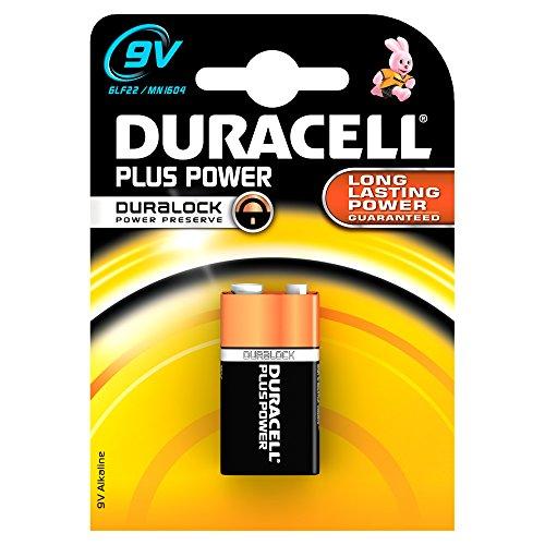 Duracell 3160-MN1604 - Block, 9 V, schwarz