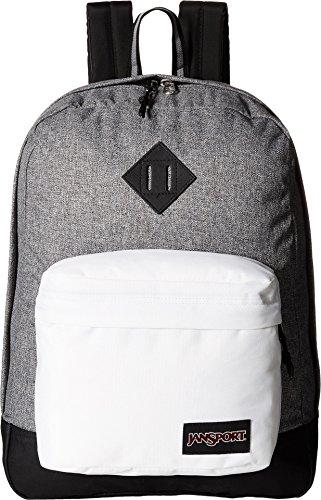 JANSPORT Super FX Backpack, Black white
