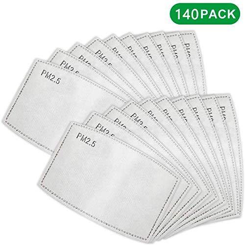 For Sale! PETW PM2.5 Replacement Filters 5 Layer Activated Carbon Filter Gasket for Mouth Respirator...