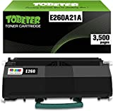 ToBeter E260A21A High Yield Compatible Toner Cartridge for Lexmark E260, E360, E460, E462 E260d, E260dn, E260dt, E260dtn, E360d, E360dn, E360dt, E360dtn Printer (up to 3,500 Pages)