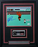 Mike Tyson Signed Framed Boxing 8x10 Punch Out Photo w/Nintendo Controller JSA