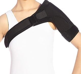 肩サポーター ラブラム涙、痛み、腱炎、ローテーターカフ損傷のための圧力イモビライザー付き安定性ブレースパッドネオプレン