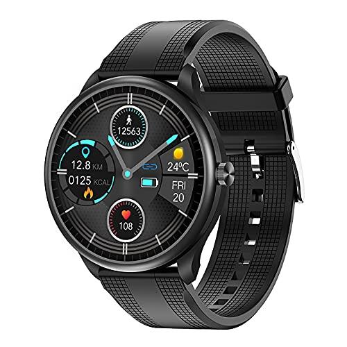 ZGZYL M10 Hombre Smart Watch Bluetooth Call Music Play Temperatura Corporal Tarifa De Respiración Sangre Oxígeno Presión Arterial ECG Ratón Cardíaco Reloj Inteligente,C