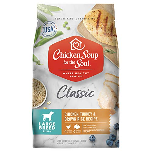 Chicken Soup Large Breed Puppy - Chicken, Turkey & Brown Rice Recipe 28lb