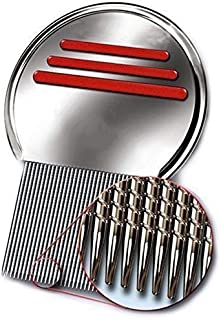 New Head Lice Metal Comb Free Shipping Stainless Steel Long Teeth Terminate Louse and Nit exterminator